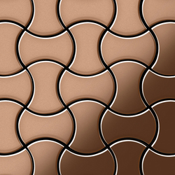 Infinit Copper Tiles | Mosaïques | Alloy