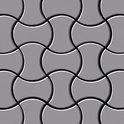 Infinit Stainless Steel 2B | Mosaici in metallo | Alloy