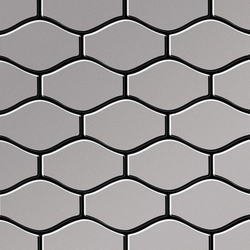 Karma Stainless Steel 2B Finish | Mosaici metallo | Alloy