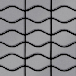 Kismet & Karma Stainless Steel 2B Finish | Metal mosaics | Alloy