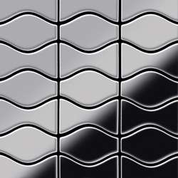 Kismet & Karma Stainless Steel Mirror Polished Finish | Mosaicos de metal | Alloy