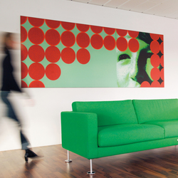 mooia acoustic wall | Sound absorbing wall art | Sedus Stoll