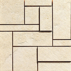 Absolute White Star Dimension | Ceramic mosaics | Caesar