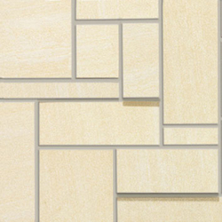 E.motion Sandy White Dimension | Ceramic mosaics | Caesar