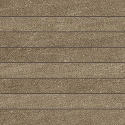 E.motion Deep Brown Stave | Ceramic mosaics | Caesar