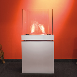 semi flame | Ventless ethanol fires | Radius Design