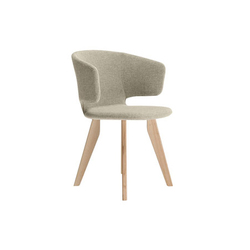 taormina wood 565 | Visitors chairs / Side chairs | Alias