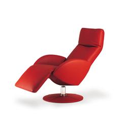 hochwertige relaxsessel mit tellerfuss auf architonic. Black Bedroom Furniture Sets. Home Design Ideas