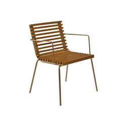 Trama Teak Armchair | Garden chairs | Calma