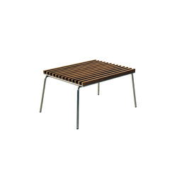 Trama Teak Footstool | Garden stools | Calma