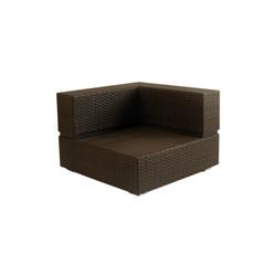 Cubic Sling Corner Module | Garden armchairs | Calma