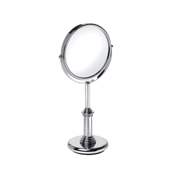 Dina Free Standing Magnifying Mirror (x3) | Shaving mirrors | Pom d'Or