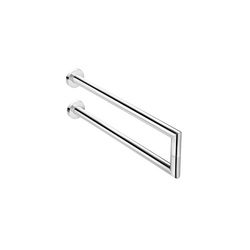 Kubic Cool Double Lateral Towel Bar | Porta asciugamani | Pom d'Or