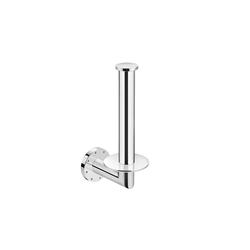 Kubic Vertical Paper Holder Without Cover | Distributeurs de papier toilette | pom d'or