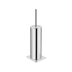 Kubic Free Standing Toilet Brush Holder | Porte-balais | Pom d'Or