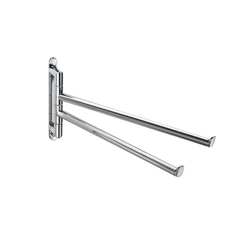 Micra Double Lateral Towel Bar | Towel rails | Pom d'Or
