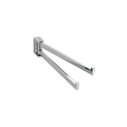 Urban Swivel Double Towel Bar | Towel rails | pomd'or