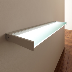 Lighting system 6 Glass shelf | Étagères / Consoles | GERA