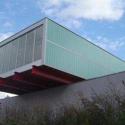 TIMax Decor | Feuerwehrgebäude Luxemburg | Fassadenbeispiele | Wacotech