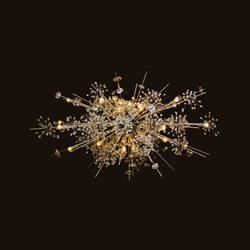 Met Foyer | Ceiling suspended chandeliers | LOBMEYR