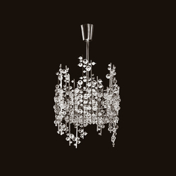 Ice Bud Chandelier | Ceiling suspended chandeliers | LOBMEYR