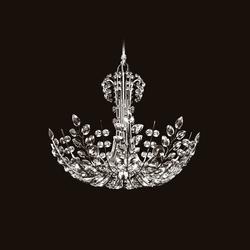 Ambassador Chandelier | Ceiling suspended chandeliers | LOBMEYR