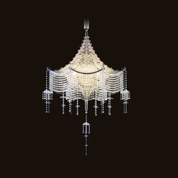 Pagoda Chandelier | Ceiling suspended chandeliers | LOBMEYR