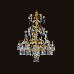 Sacher Chandelier | Ceiling suspended chandeliers | LOBMEYR