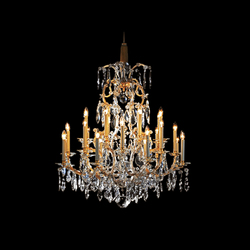 Bally Chandelier | Lampadari da soffitto | LOBMEYR