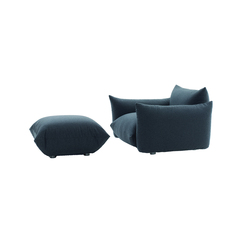 Marenco Armchair with pouf | Armchairs | ARFLEX