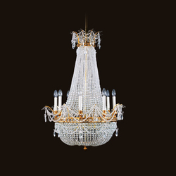 Simplon chandelier | Lámparas de araña | LOBMEYR