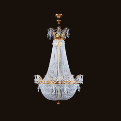 Milano chandelier | Ceiling suspended chandeliers | LOBMEYR