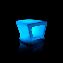 Pal table LED | Poufs | Vondom