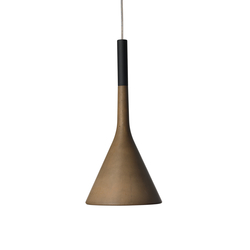 Aplomb suspension marron | General lighting | Foscarini