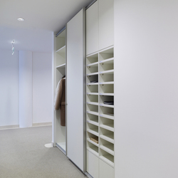basic S Suspended door system | Armadi ufficio | werner works
