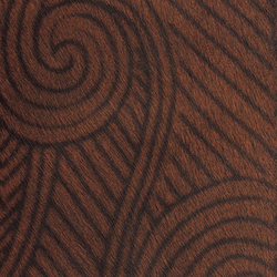 Natives | Maori VP 627 07 | Colour brown | Elitis