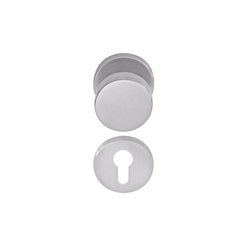 Premium 3020 N timber door | Knob handles | dormakaba