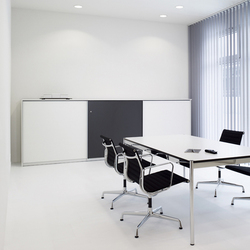 basic S Suspended door system | Meubles de rangement | werner works