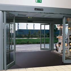 SST Sliding hinged safety doors | Porte d'ingresso | dormakaba