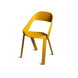 WOGG ROYA Stackable Chair | Multipurpose chairs | WOGG