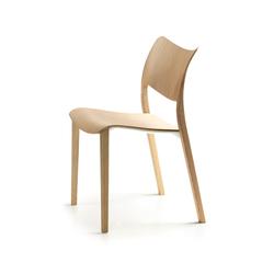 Lottus wood chair by enea design lievore altherr molina - Chaises De Cantine Avec Pi 232 Tement En D 233 Riv 233 Du Bois De