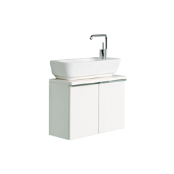 Shift Washbasin unit for guest cloakroom | Vanity units | VitrA Bad