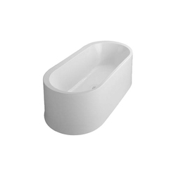 Istanbul Oval Bathtub, freestanding | Vasche ad isola | VitrA Bad
