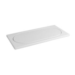 Istanbul Flat Shower tray, rectangular | Shower trays | VitrA Bad