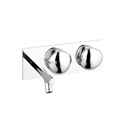 Istanbul Two-handle basin mixer