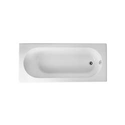 Options Matrix, Badewanne 170 x 75 cm | Einbau | VitrA Bad
