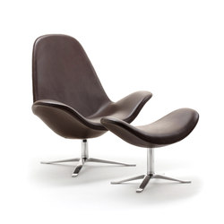 Concord Armchair and footstool | Poltrone lounge | Stouby