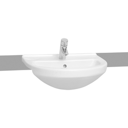 S50 Semi recessed basin, 55 cm | Wash basins | VitrA Bad