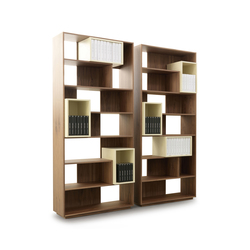 Puzzle 9700 Bookcase | Shelving systems | Vibieffe