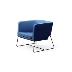 Tonic lounge metal | Fauteuils | Rossin